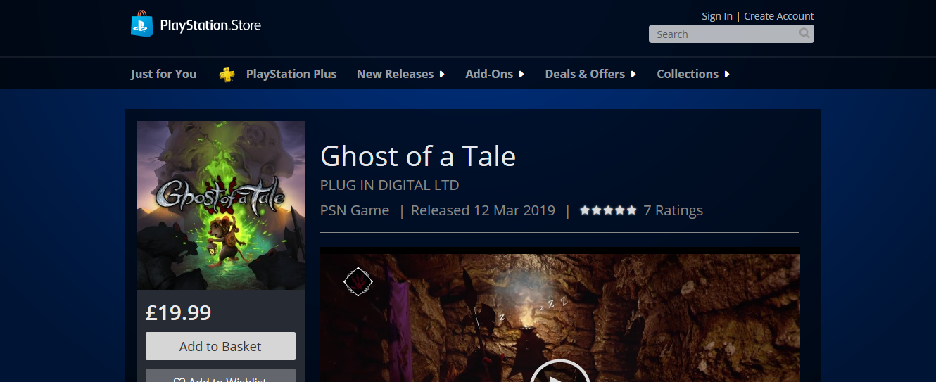 News - Ghost of a Tale